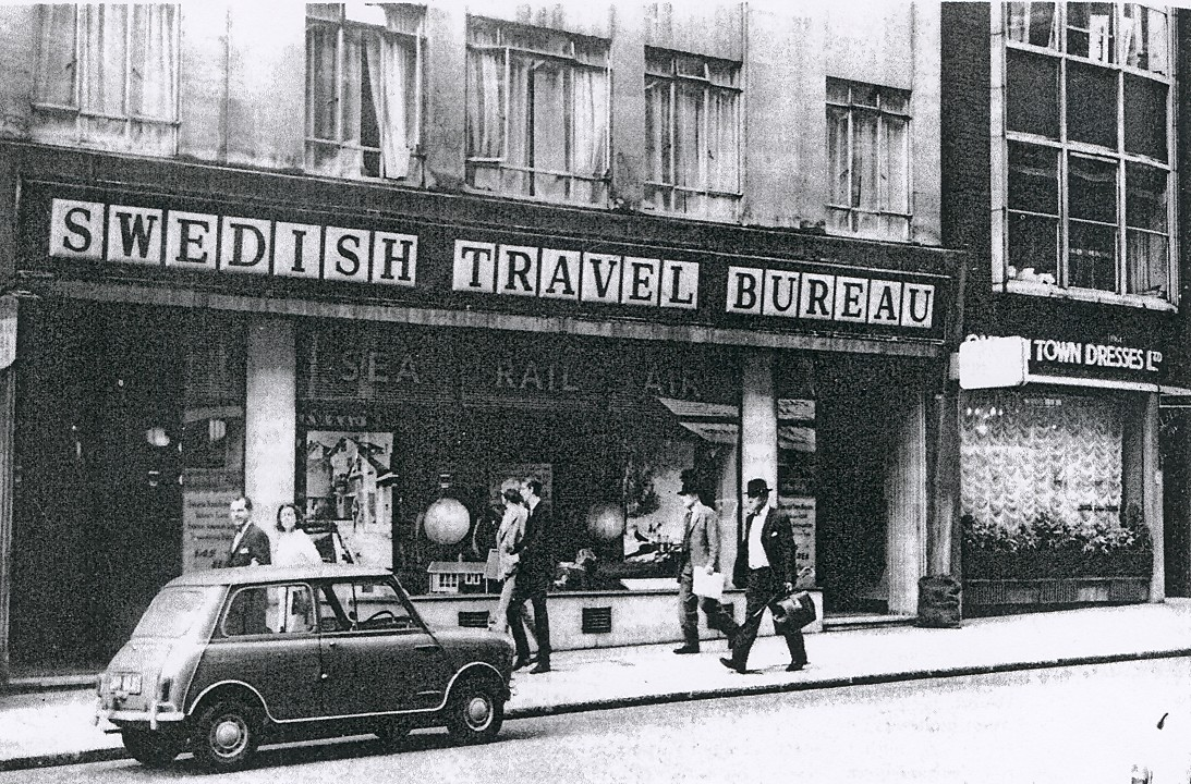 SJR Conduit Street, London 1966